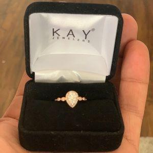 1/4 ct tw Rose Gold Diamond ring